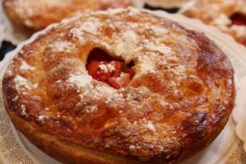tarte fruit rhubarbe dessert gouter